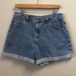 Vintage Levi 954 Denim Shorts Size 13